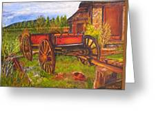 The Buggy, 11x14, Oil, '07 Greeting Card