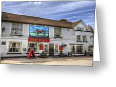 The Bull Pub Theydon Bois Panorama Greeting Card