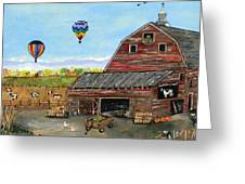 The Burch Farm Greeting Card