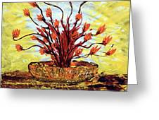 The Burning Bush Greeting Card