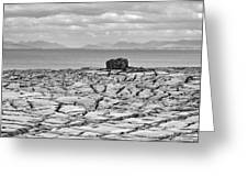 The Burren Landscape Ireland Greeting Card