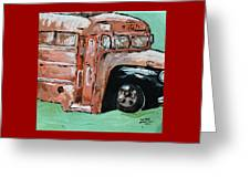The Bus Greeting Card