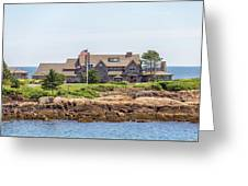 The Bush Family Compound On Walkers Point Greeting Card