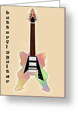 The Butterfly Guitar Greeting Card