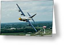 the C-130  Greeting Card