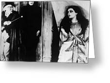 The Cabinet Of Dr.caligari Greeting Card