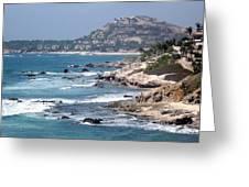 The Cabo Coast Greeting Card