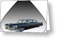 The Caddy Greeting Card