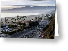 The California Incline Greeting Card