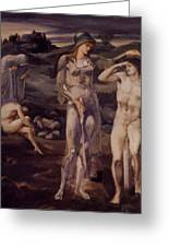 The Calling Of Perseus 1898 Greeting Card
