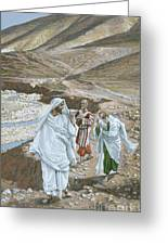 The Calling Of St. Andrew And St. John Greeting Card by Tissot