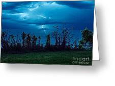 The Calm Before The Storm. Greeting Card