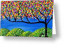 The Calming Tree  Greeting Card