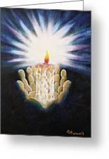 The Candle Of The Lord Greeting Card
