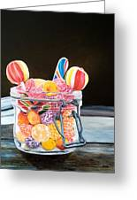 The Candy Jar Greeting Card
