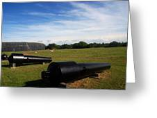 The Cannons At Fort Moultrie In Charleston Greeting Card