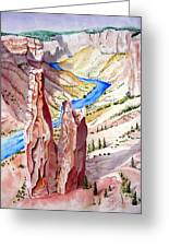 The Canyon Greeting Card