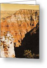 The Canyon Greeting Card by John Winner