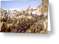 The Capture Of Constantine Greeting Card