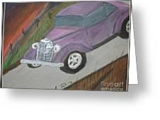 The Car Greeting Card