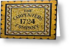 The Carpenters Company Greeting Card