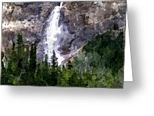 The Cascade Greeting Card