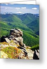 The Cascade Mountains Greeting Card