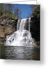 The Cascades Falls II Greeting Card