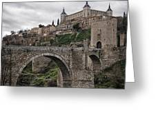 The Castle And The Bridge Greeting Card