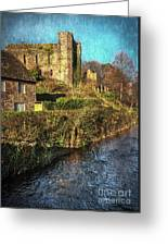 The Castle At Brecon Greeting Card