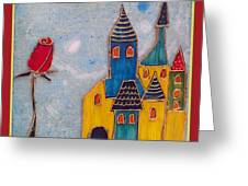 The Castle Lives Greeting Card
