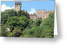 The Castle Of Camino Greeting Card