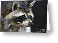 The Cat Food Bandit Greeting Card
