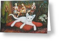 The Cat Greeting Card
