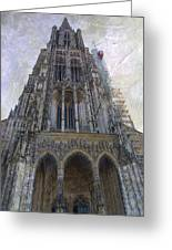 The Cathedral At Ulm Greeting Card