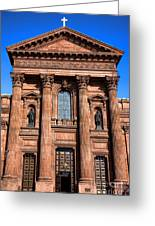 The Cathedral Basilica Of Saints Peter And Paul Greeting Card