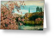 The Cathedral Basilica Of The Sacred Heart Greeting Card