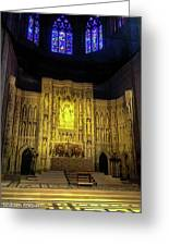 The Cathedral Church Of Saint Peter And Saint Paul Greeting Card