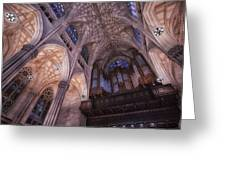 The Cathedral Of St. Patrick Greeting Card