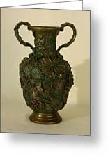 The Cedar Ridge - Wildflower Vase Prickly Pear Side Greeting Card
