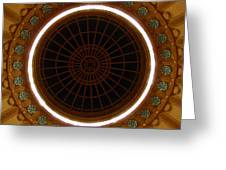 The Ceiling Greeting Card