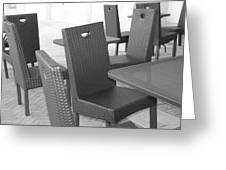 The Chairs Greeting Card