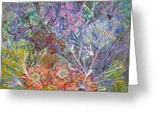 The Chakrah Garden Greeting Card
