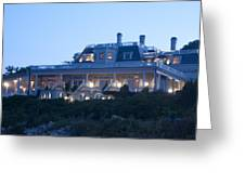 The Chanler At Cliff Walk Greeting Card