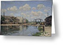 The Channel Of Saint Martin Greeting Card