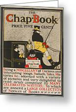 The Chap Book Greeting Card