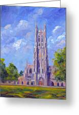 The Chapel At Duke University Greeting Card
