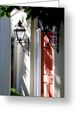 The Charme Of Charleston Sc Greeting Card