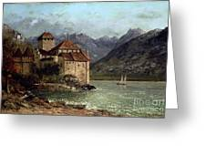 The Chateau De Chillon Greeting Card