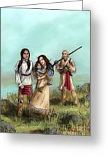 The Cherokee Years Greeting Card